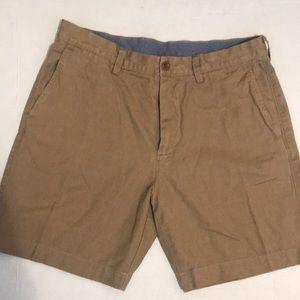 J. Crew khaki shorts club shorts men's 34 khakis